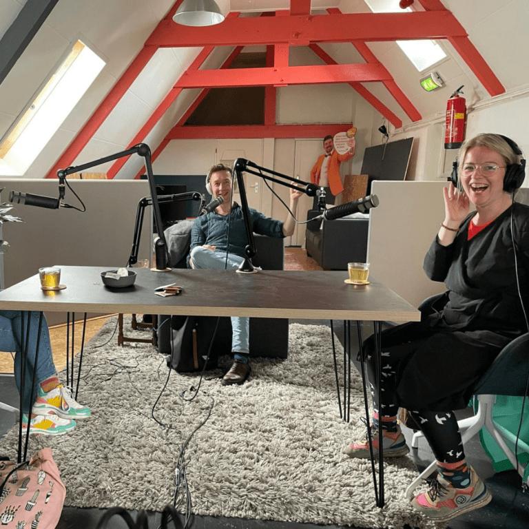 Podcast opname SDO